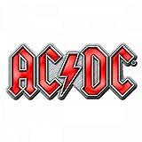 for-collectors-only AC/DC - Chapa, diseño con Logotipo Rojo