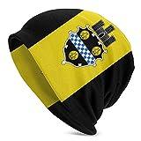LKQTH - Gorro unisex con diseño de bandera de Pittsburgh