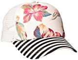 Roxy Beautiful Morning - Gorra Trucker para Mujer Gorra Trucker, Mujer, Snow White Tropic Call, 1SZ