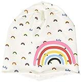 United Colors of Benetton Cappello Juego de accesorios de invierno, Blanco 902, 74 para Bebés