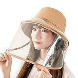 LeeMon – Sombrero con visera, protección facial para protección facial, gorro de béisbol de malla, gorro de verano, secado rápido, gorra de béisbol, gorra deportiva, gorra plana beige caqui