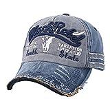 Gorra de Béisbol Hombre y Mujer, Hip Hop Clásico del Algodon Transpirable Sombreros de Vestir Bordado Boinas Unisex Ajustable Deporte Pesca al Aire Libre por URIBAKY …