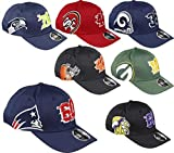 New Era Seattle Seahawks 9fifty Stretch Snapback Cap Established Number Navy - S-M