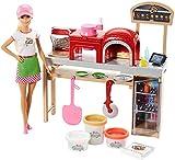 Barbie Quiero Ser pizza chef, muñeca y accesorios de juguete, regalo para niñas y niños 3-9 años (Mattel FHR09)