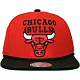 Mitchell & Ness Chicago Bulls Viscord – Gorra plana para hombre