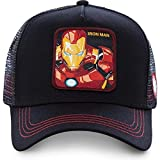 AJSJ Geborduurde Baseball Cap Mode Katoen Hip Hop Straat Hoeden Outdoor Mode Golf Caps, Iron-Man