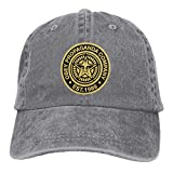 Yuanmeiju Gorra de Mezclilla Obey=Pro Paganda Adjustable Unisex Hat Baseball Caps Gray