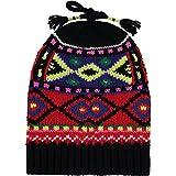 Ralph Lauren Niñas Nordic Negro Woollen Knit Beanie
