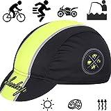 Ettzlo - Gorra de bicicleta retro para bicicleta de carretera con protección solar para ciclismo, gorra para bicicleta