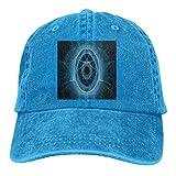 RFTGB Gorras Unisex Accesorios Sombreros Gorras de béisbol Sombreros de Vaquero 3D Printed Denim Baseball Cap, Unisex Vintage Dad Hat, Golf Hats, Adjustable Plain Cap