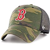 '47 Brand MLB Boston Red Sox Camo Branson Gorra