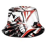 GGdjst Sombreros de Cubo, KMFDM Fisherman Beanie Black New One Size Sombrero De Sol Gorra Plana para Mujeres De Hombres