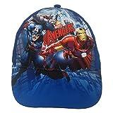 Gorra de Los Vengadores Iron Man Tor Capitán América con visera de verano para niño, talla 52/54-AV0507/BE