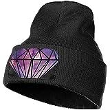 Dale Hill Galaxy Diamond Unisex 100% Acrílico Tejer Sombrero Gorra Moda Beanie Hat