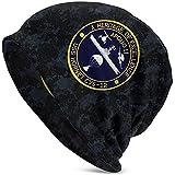USS Hornet CVS-12 Apollo 11 Recovery Unisex Sombrero cálido Sombrero de Punto Cráneo Cap Gorros Cap