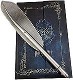 Harry Potter Diario planificador diario y Hogwarts Pen Gifts Set Harry Potter Vintage Agenda Notebook Bloc de notas con pluma pluma pluma pluma pluma pluma para los fans de Harry Potter