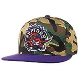 Mitchell & Ness Gorra Woodland Camo Raptors by beisbolgorra Baseball (Talla única - Camuflaje)