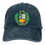 wwoman Gorra de béisbol Ajustable Vintage para Hombres o Mujeres Gorra de béisbol Bandera de Perú Gorra Snapback
