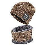 MCSZG Skullies Gorros Sombreros de Invierno para Hombres Sombrero de Punto Mujeres Gorras Baggy Cálido Cuello Suave Pasamontañas Sombrero de Gorro para Hombre Sombreros Gorra