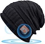 Bluetooth 5.0 Gorro Regalos Originales para Mujer - Musical Gorro Invierno Hombre & Mujer Regalos Navidad, Gorro Slouch Beanie con Estéreo HD para Niños/Hombres/Mama/Padres