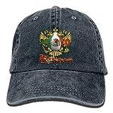 Mexico Football 2018 Gorras de béisbol de vaquero para adultos Sombreros de mezclilla para hombres Mujeres