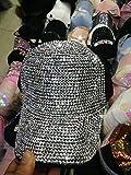 PKYGXZ Gorra de béisbolFemeninaBling Diamond Hat Mujeres Rhinestone Sombreros Accesorios de Ropa