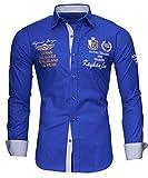 Kayhan Hombre Camisa Monaco Blue (M)