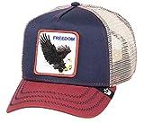Goorin Bros. Gorra Trucker FreedomBros. de Malla Camionero (Talla única - Azul)