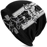 LinUpdate-Store Death Row Records Hedging Cap Black Cool Graphic One Size Adulto Sombrero de Punto para Hombres y Mujeres
