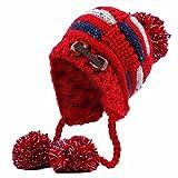 Blancho Bedding Moda al Aire Libre de Invierno Calientes Tejidos Gorros Sombrero Sombrero Sombrero de esquí Sombrero de Skate Grueso