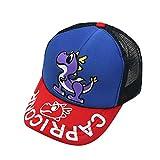 TWIFER Sombrero de Gorra de Beisbol para niñas Sombreros de Sol para niños Sombreros de Playa con patrón de Dinosaurio Lindo Verano Bebé Algodón Sunhat Eaves Carta Ajustable Anti UV