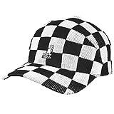 Kangol Checkered Tropic Adj Spacecap K3398 BK001 - Gorra para hombre, color negro