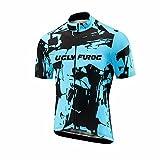 Uglyfrog ESHNE01Bike Wear Ciclismo Hombres MTB Bici Maillots Sports Seco y Transpirable de Bicicleta Conjunto de Ropa de Ciclo Jersey de Manga Corta