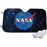 Parabrisas Sun Shade-Parasol del Parabrisas del Coche Plegable Visera Reflectante Plegable para El Camión del Coche SUV NASA