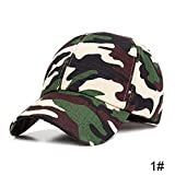 Sombrero Nuevas Gorras de Camuflaje Gorras de béisbol Finas de Primavera y Verano Gorras de tamaño Ajustable for Hombres Sombreros de Camionero Unisex for Hombres Gorras de Hueso