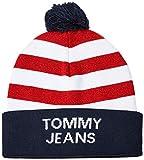 Tommy Hilfiger Tjw Americana Beanie Gorra de béisbol , Azul (Blue 0g1)  ,  Talla única (Talla del fabricante: OS) para Mujer