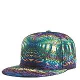 SHASO Gorra de béisbol Space 3D Print Gorra Plana Personalidad Cool Gorra de béisbol para Mujeres y Hombres Gorras Wild Fashion Hat