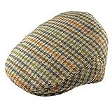 Pesci Kids Gorras Planas Mezcla de Lana Tweed Sombreros Boinas para Niños, Marrón 2-4 años 52cm