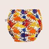 ADGSSJ,Unisex One Size Waterproof Adjustable Swim Diaper Pool Pant 10-40 lbs Swim Diaper Baby Reusable Washable Pool Cover 30 Color,H,M