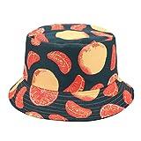 Cutenono SANKANG Imprimir Sombrero de Doble Cara El Uso de Pesca de Verano Visera Plegable del Sombrero del Cubo del Sombrero Senderismo Buckethat Sombrero de la Playa Gorro Pescador Hombre