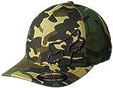 Fox Racing Men's Flex 45 Flexfit Hat Camo Green-S/M