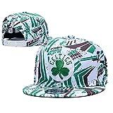 Celtics Basketball Cap ,Gorras Hombre, Gorra de béisbol con Visera Ajustable Casual Gorras Rapero Classic Mujer Gorra de Rejilla Sombrero Retro,Unisex