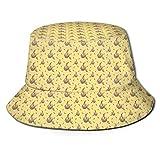 Sombrero de Pescador Unisex Vecteezy Sloths Sombrero de Pescador de ala Ancha Gorra de Cubo para Hombres y Mujeres Negro