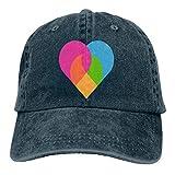 Hoswee Gorra de Béisbol Ajustable Love Unisex Trendy Cowboy Hat Outdoor Sports Hat Snapback Sombreros