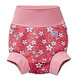 Splash About Happy Nappy Pañal de Baño Reutilizable - Pink Blossom 6-12 Meses