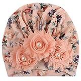 H.eternal(TM) Gorro de Invierno para recién Nacido, con diseño de Flores H M
