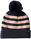 adidas Fat Stripes Gorro, otoño/Invierno, Infantil, Color Dark Grey Heather/Haze Coral/White, tamaño Talla única Mujer