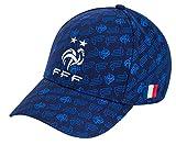 FRANCE - Gorra de fútbol (colección oficial), talla ajustable para adolescentes y adultos