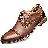 Zapatos de Vestir para Hombre Formales, Planos, de Cuero clásico, más el tamaño 40-47 Zapatos de Boda para Empresas Oxford