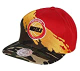 Gorras Houston Rockets Hwc Paintbrush Camo Snapback - Mitchell & Ness